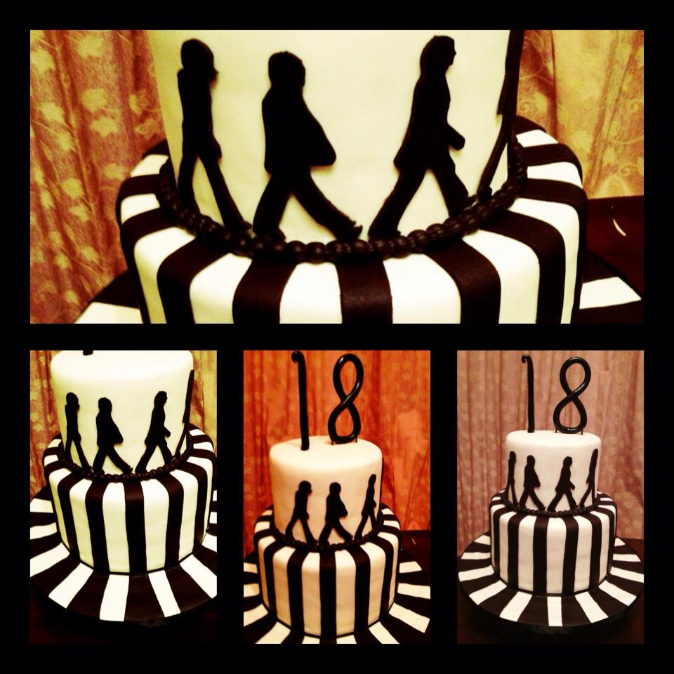Gmail themes beatles - A Beatles Theme Cake I Did 3 Years Ago