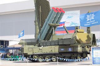 Sistem Hanud Buk-M3 Rusia