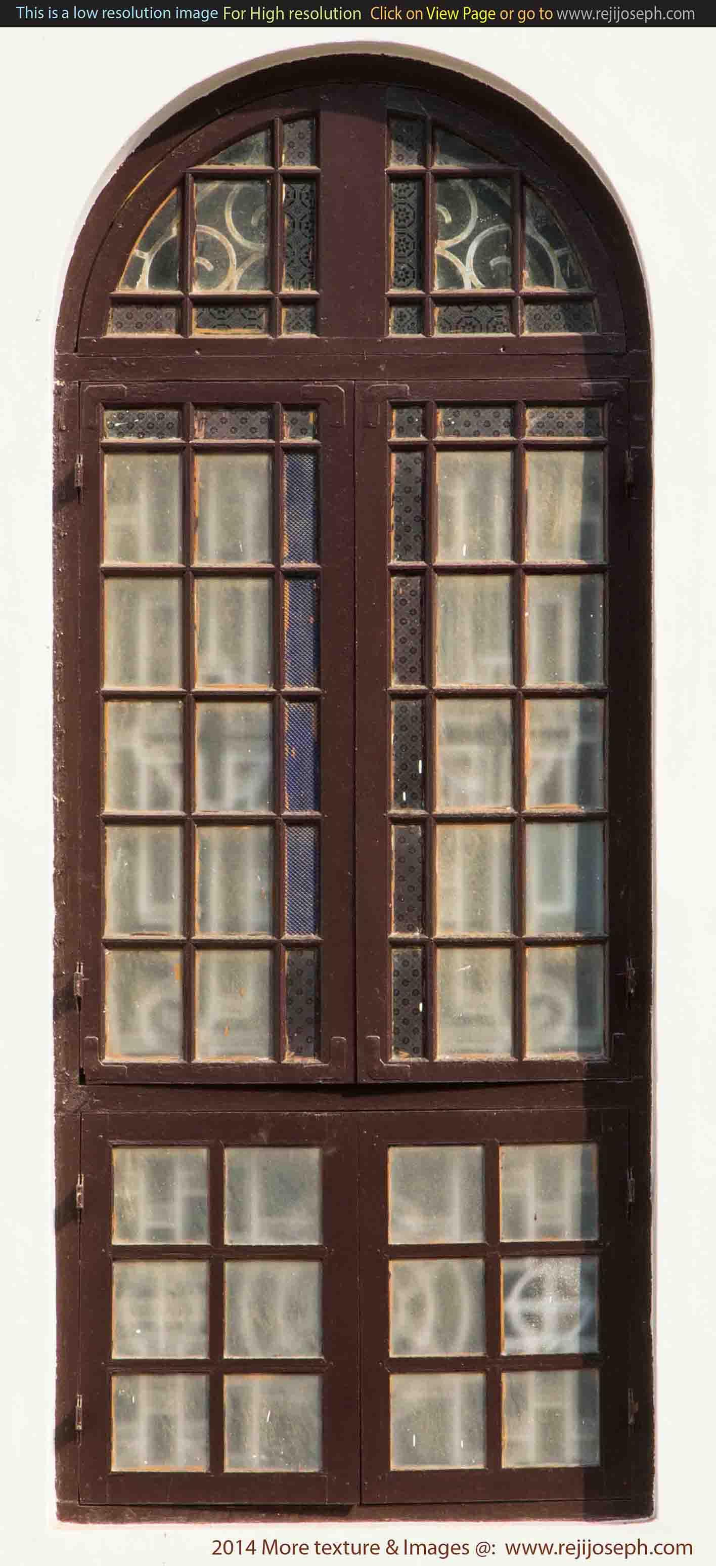 Arch Window texture 00002