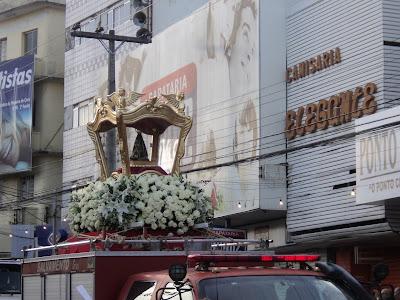Despedida da Imagem Peregrina de Nossa Senhora Aparecida será durante as festividades juninas em Caruaru.