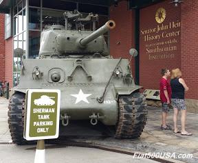 Senetor John Heinz History Center Sherman Tank