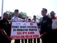 Honda Teken MOU Dengan 20 SMK Binaan Di Jawa Tengah