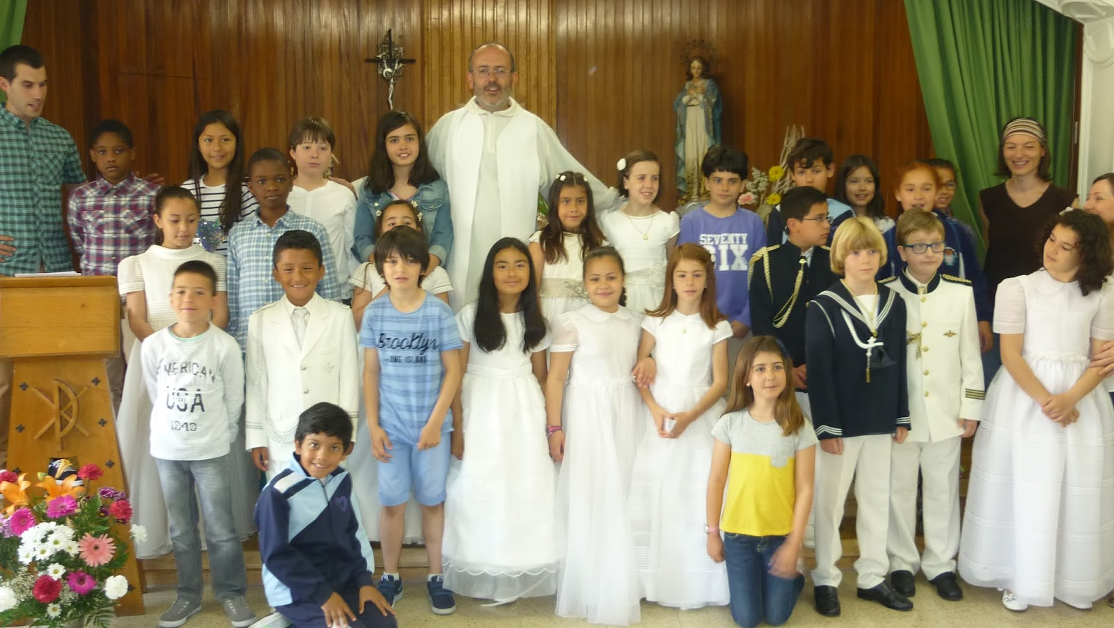 Colegio amor de dios burlada celebraci n de las primeras - Colegio amor de dios oviedo ...
