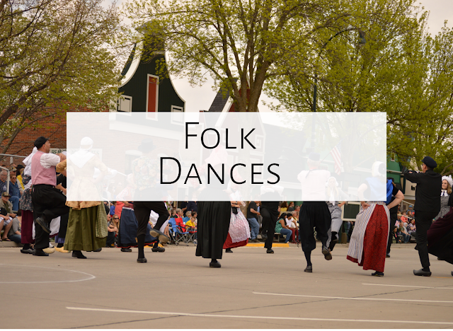 Three favorite folk dances