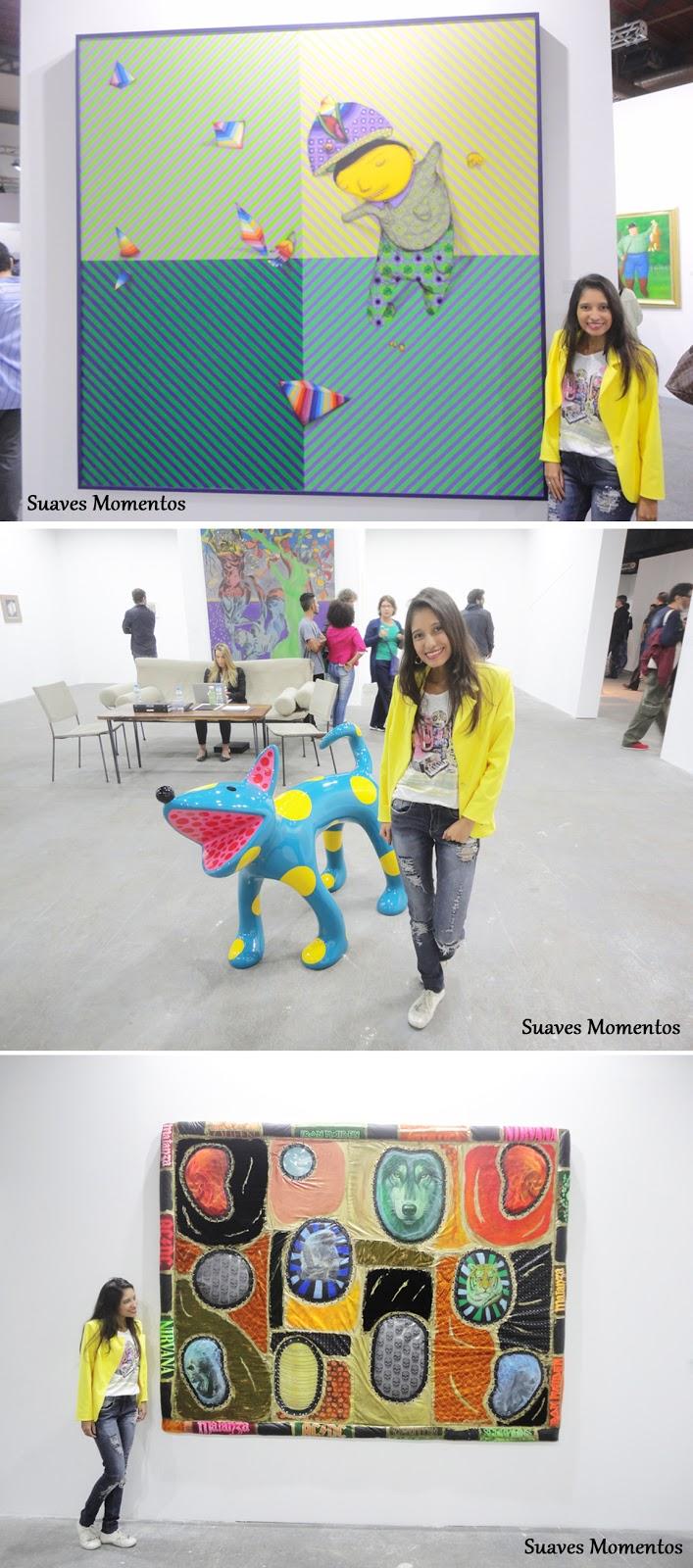 Exposição de artes no ArtRio 2016
