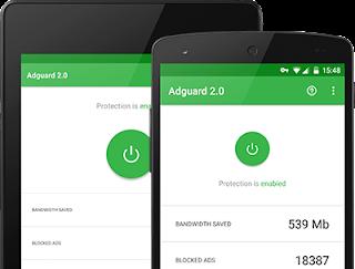 تحميل تطبيق AdGuard حظر الاعلانات من هاتفك مجانا للاندرويد 2018