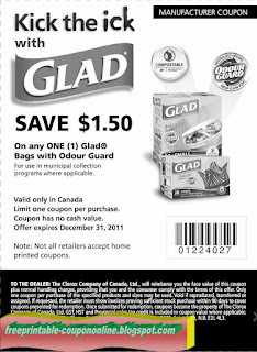 Free Printable Glad Coupons