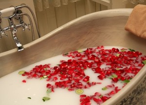 Kókusztej fürdő házilag
