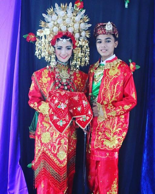 Sewa baju Padang pengantin padang di Jakarta hubungi