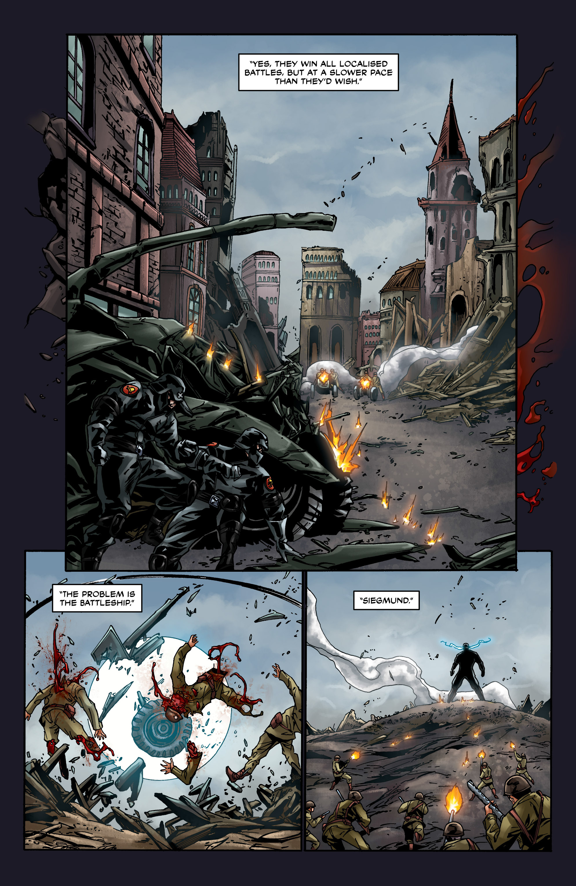 Read online Uber comic -  Issue #8 - 12