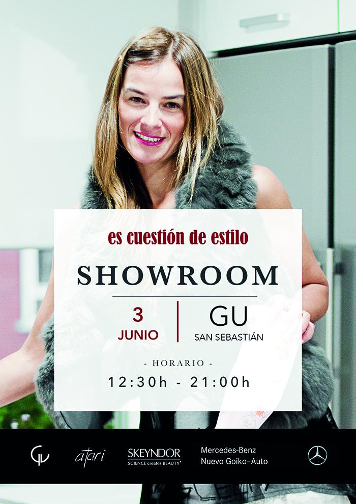 Showroom , Gu San Sebastián , Escuestión de estilo , Personal Shopper , Lucía Díez , Atari Gastroteka .
