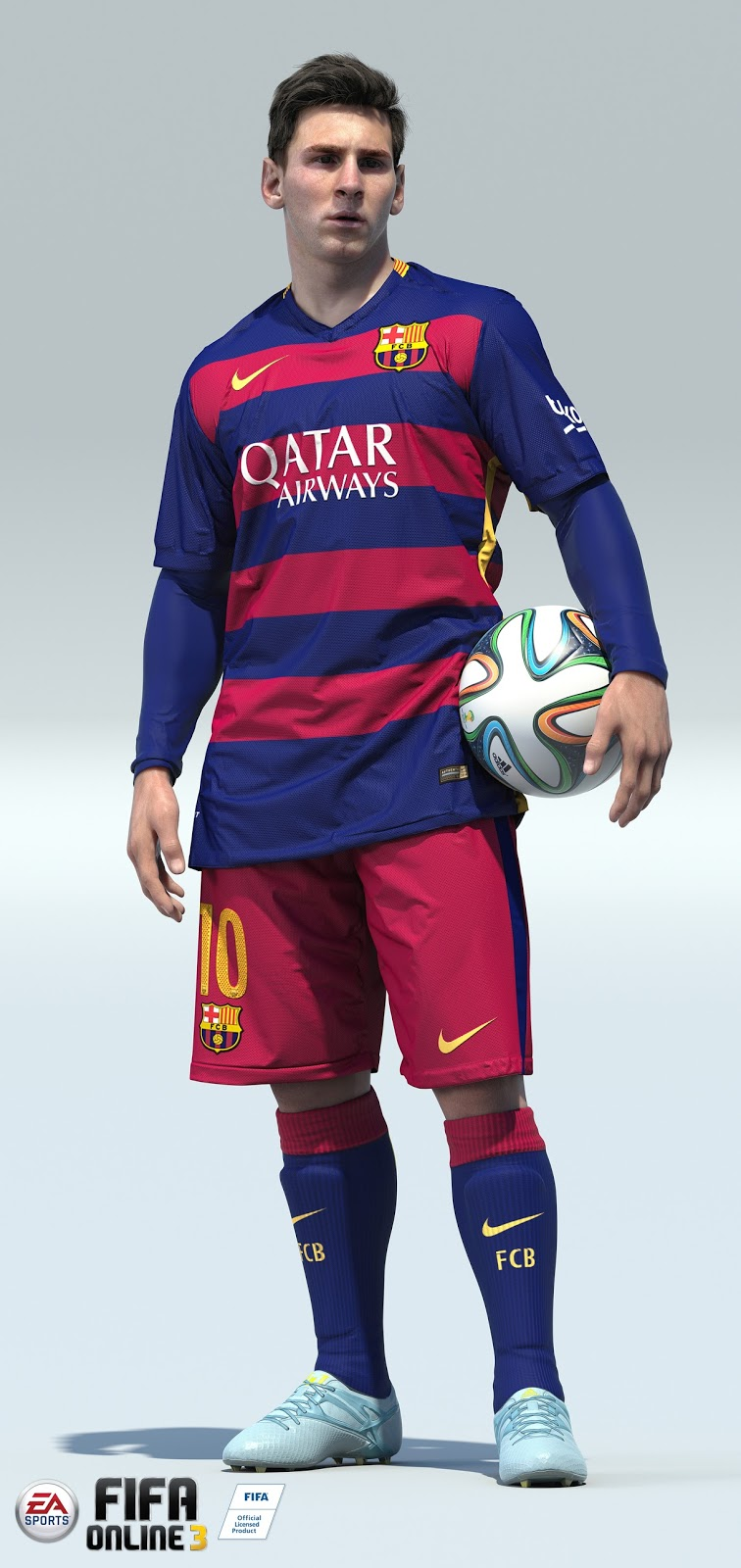 Soccer Players Messi CGI Soccer Players by ...