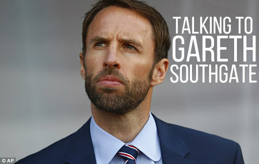 Talking to Gareth Southgate