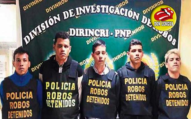 10 venezolanos miembros de la banda del Tren del Norte son activamente buscados en Perú