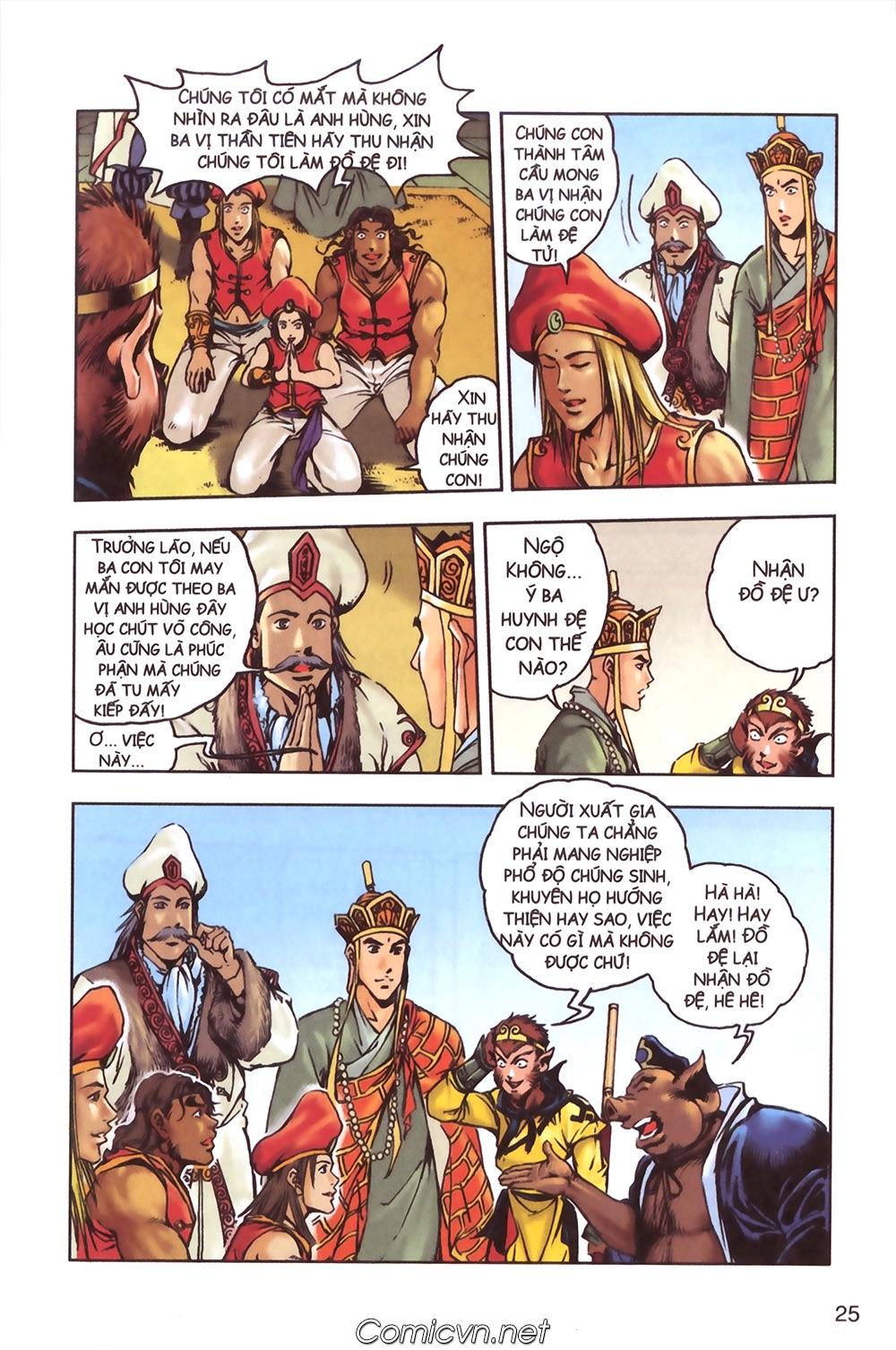 Tây Du Ký màu - Chapter 124 - Pic 21