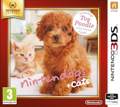Nintendogs + Cats Toy Poodle & New Friends Decrypted 3DS USA