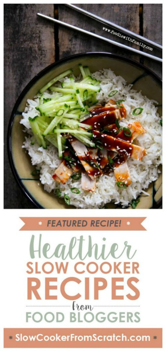 Slow Cooker Korean Style Barbecue Pork from Foodie with Family found on SlowCookerFromScratch.com