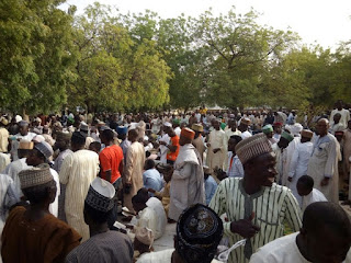 Prayers for Buhari in Sokoto