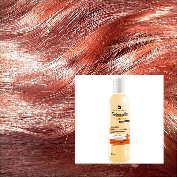 Seboradin balsam do włosów z żeń szeniem - jeden z ulubieńców :)