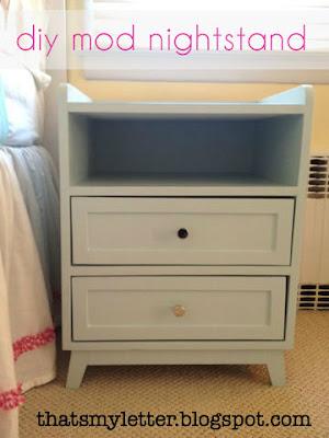 diy mod style nightstand