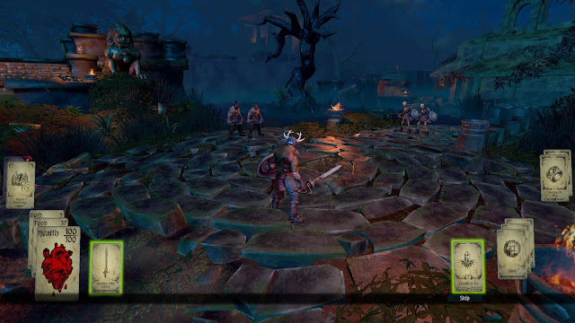 Screenshot from Hand of Fate