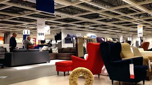 Mercadorias na loja Ikea em Miami