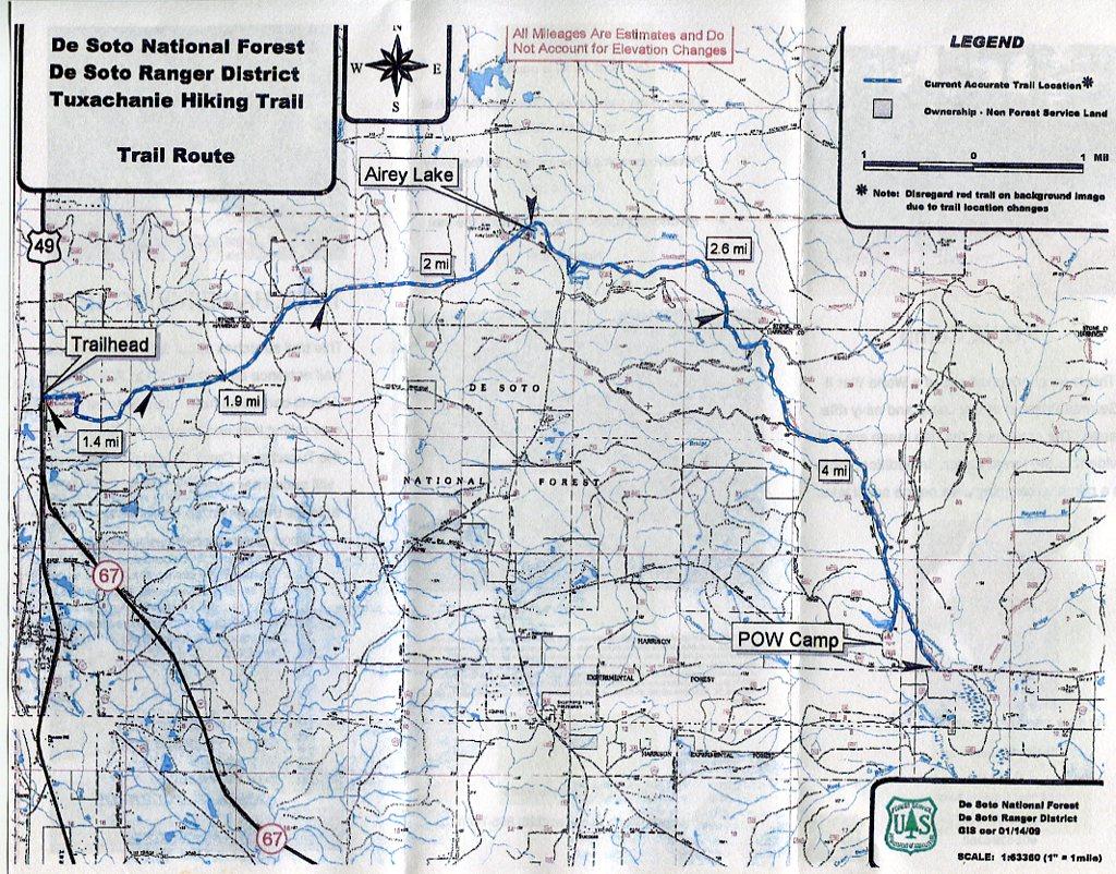 Nature Unlocked: Tuxachanie Trail, De Soto National Forest