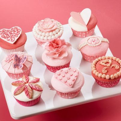 My Moon Valentine S Day Cupcake Decorating Ideas
