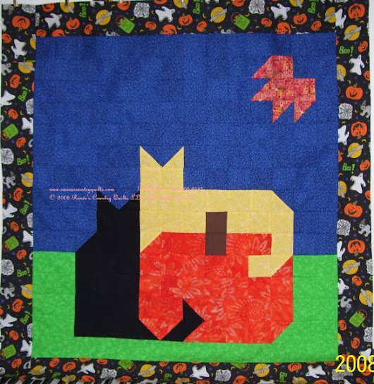 2008 Halloween Quilt, and still one of my favorites