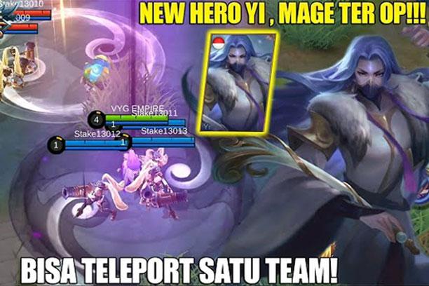 Yi Hero Baru Mobile Legends