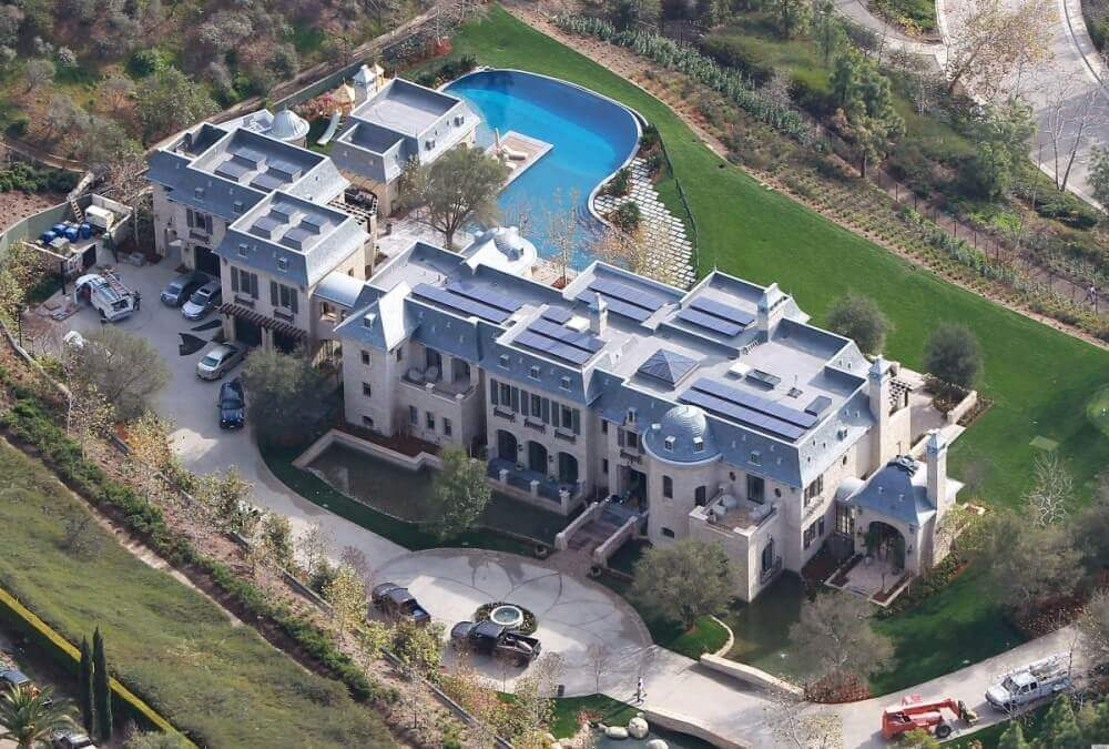 Tom Brady ve Gisele Bundchen'in Evi