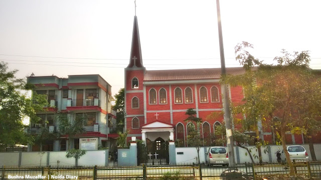 Noida Diary: Christ Church, Sector 29, Noida