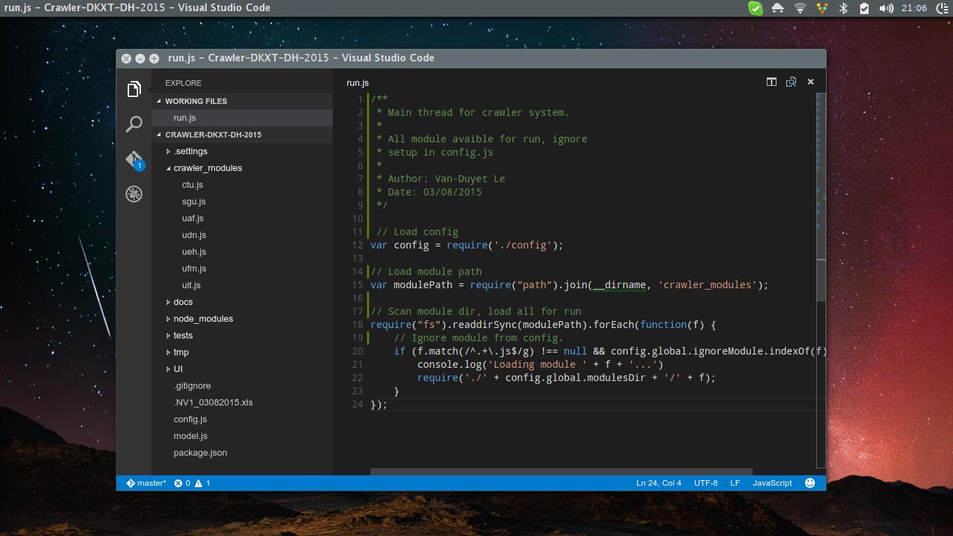 Tổng hợp phím tắt của Visual Studio Code
