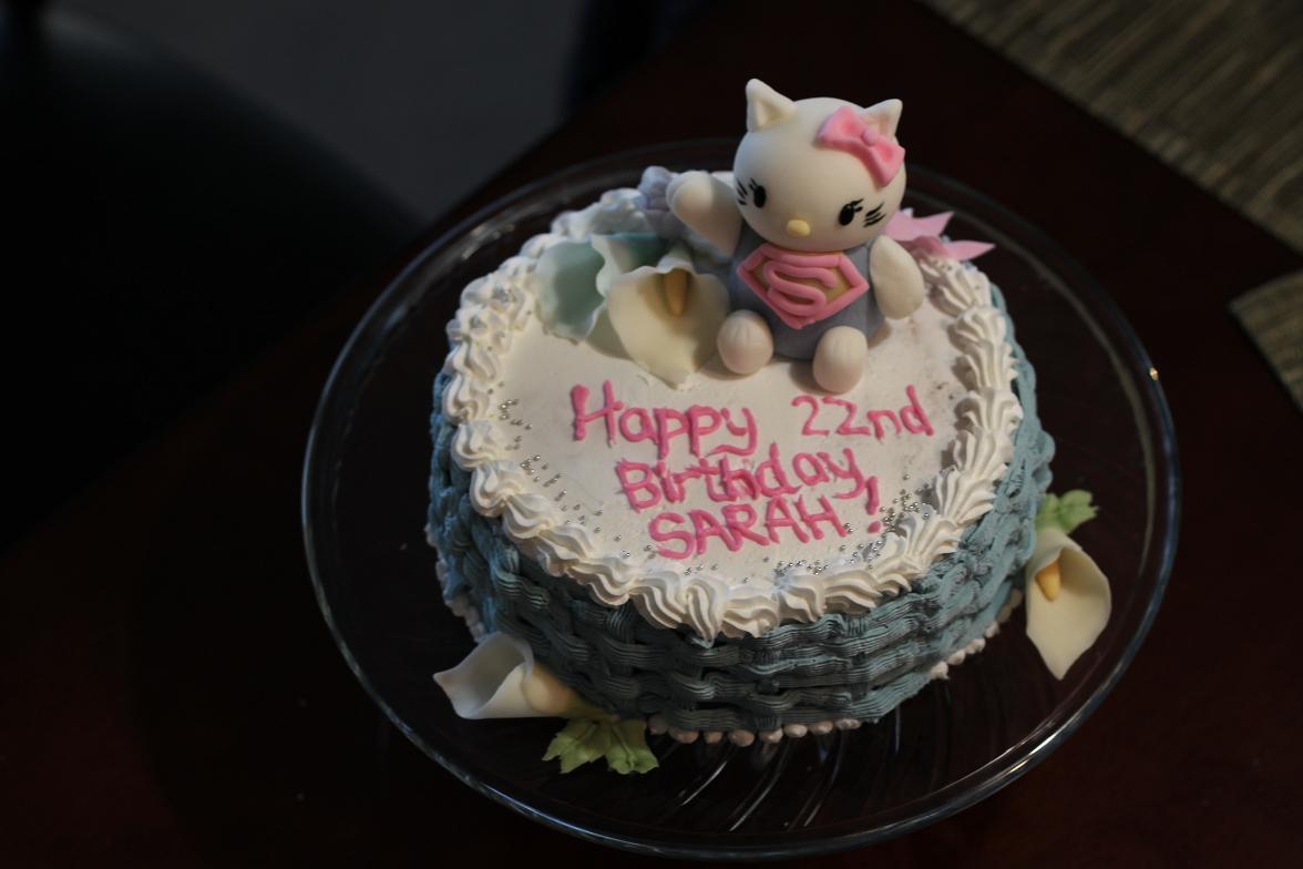 Happy Birthday Cake Sarah Sara