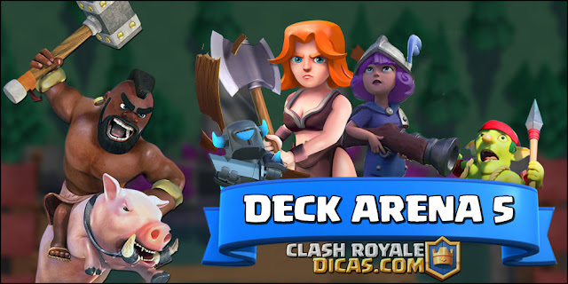 Dica deck do Leitor para Arena 5 (Deck Good-Start) - 1