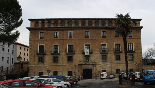 El Palacio Arzobispal de Pamplona, en la Plaza Santa María la Real
