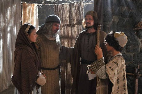 A cura do cego de nascença,  série milagres de Jesus