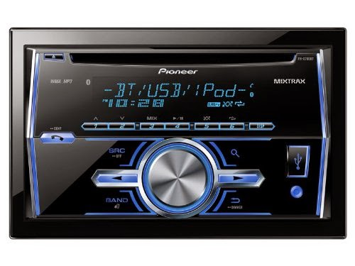 Pioneer FH-X700BT In-Dash Double DIN CD/MP3/USB Stereo Mobil Receiver w / Bluetooth, Pandora Link, MIXTRAX dan support Ipod