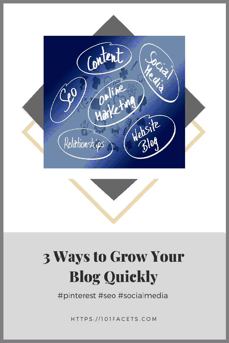 3 Ways to Grow Your Blog Quickly
