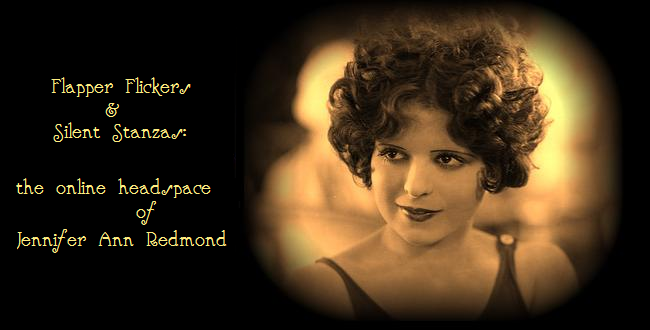 Flapper Flickers and Silent Stanzas