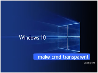 make cmd transparent in windows 10