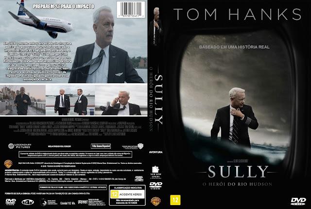 Capa DVD Sully O Heróis Do Rio Hudson