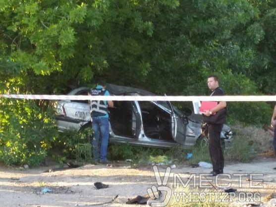 У Запоріжжі автомобіль на смерть збив матір із дитиною