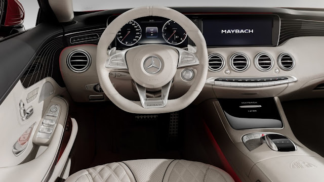 Interior del Mercedes Maybach S650 Cabriolet
