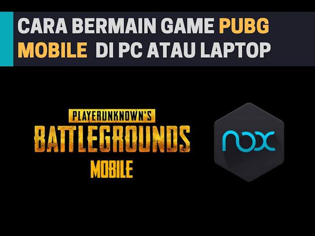 Cara Main PUBG Mobile Bahasa Inggris di PC  Tutorial Main PUBG Mobile Bahasa Inggris di PC / Laptop