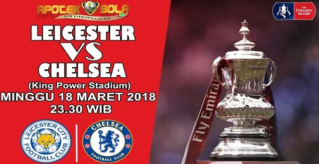 Prediksi Leicester City vs Chelsea 18 Maret 2018