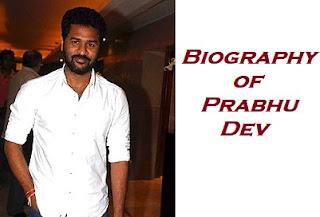 Biography-f-Prabhu-Deva