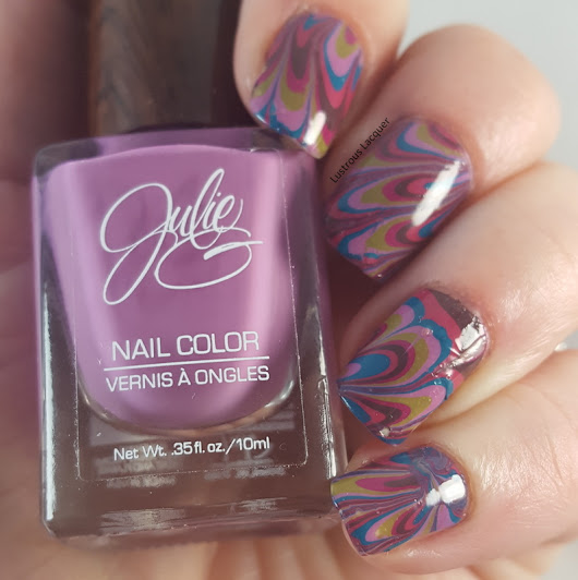 Watermarble with Julie G Bohemian Dreams Collection