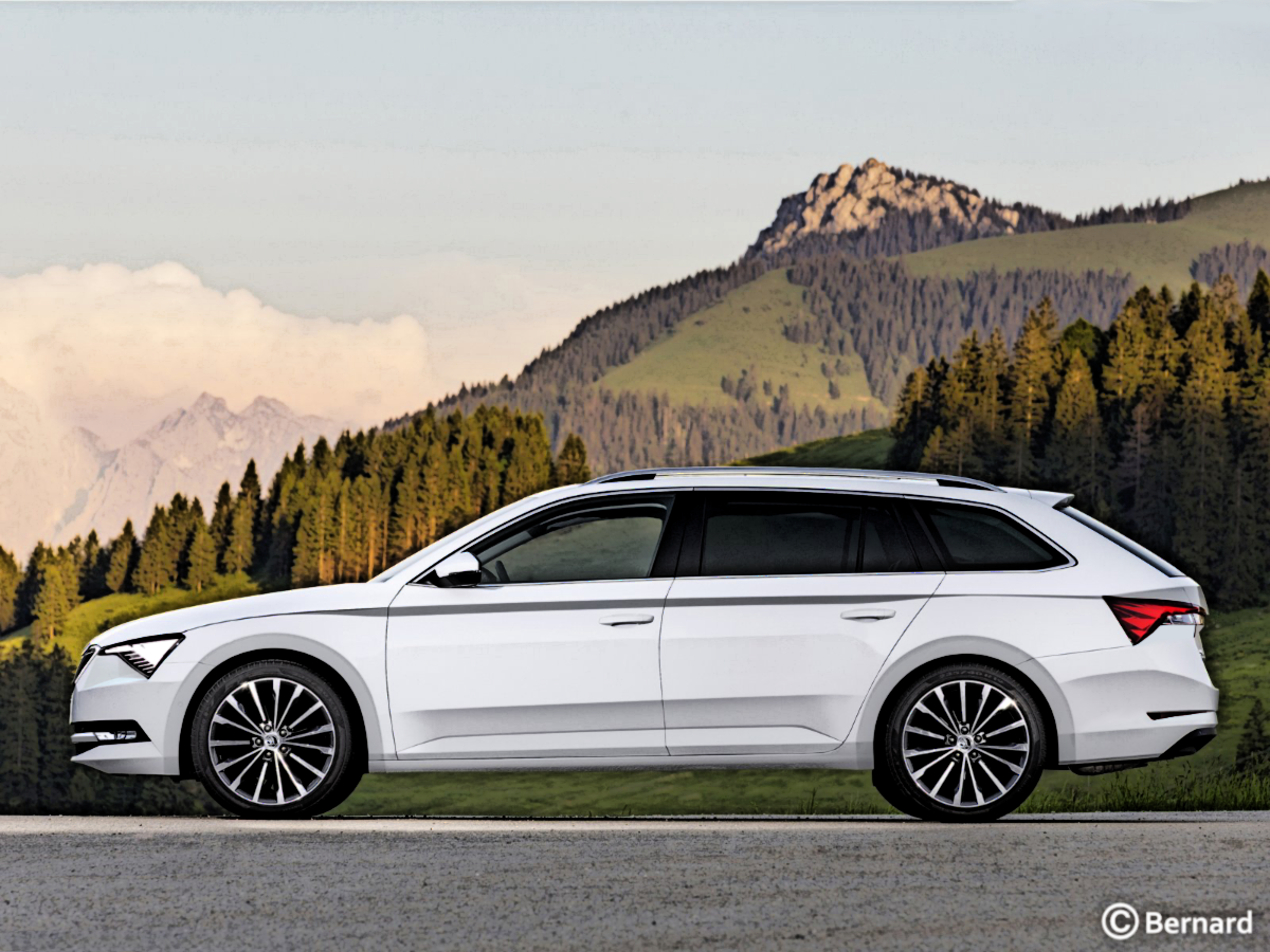 Bernard Car Design 2019 Skoda Superb Facelift