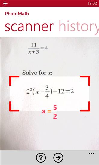 Fotografando uma equação